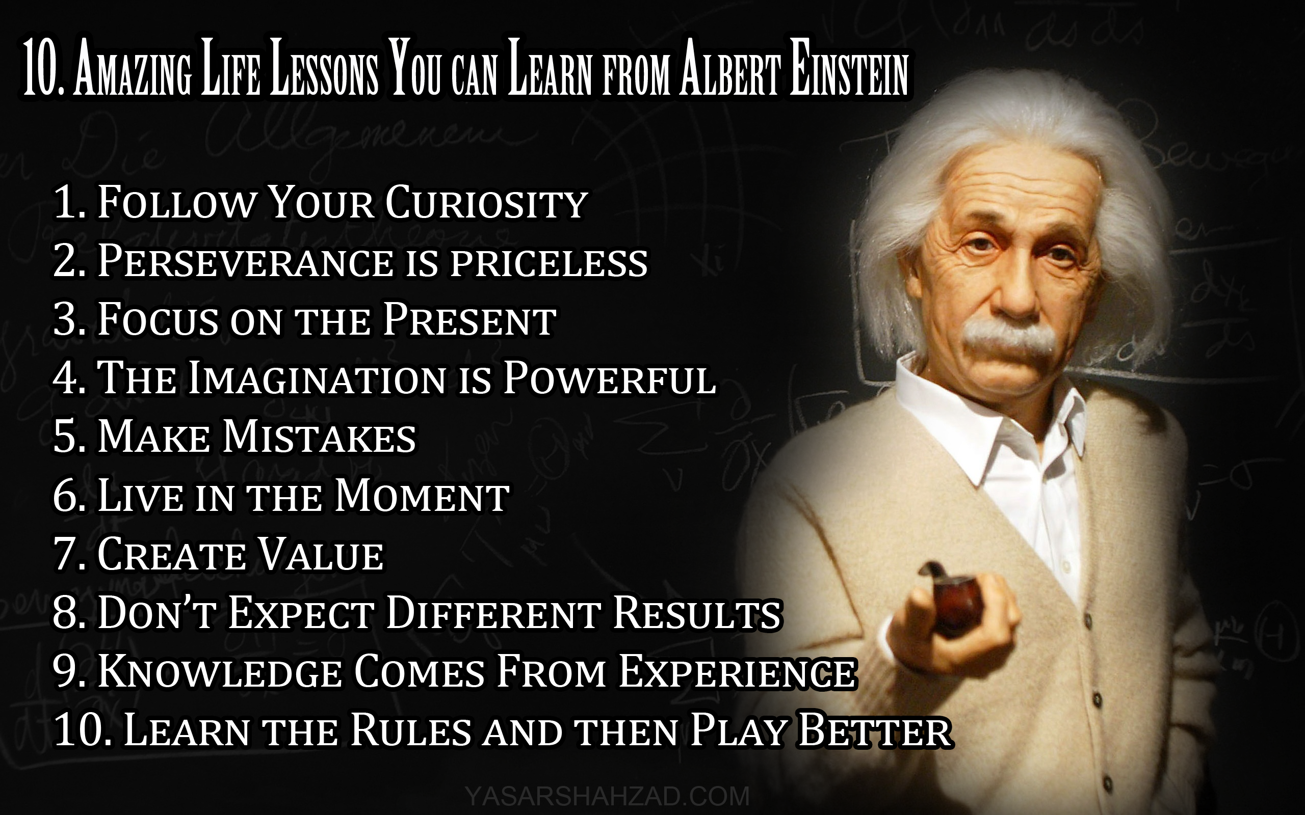 Life Quotes Famous 10 Life Lessons You Can Learn From Einstein  Ermisvfland
